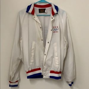 Vintage USA 1988 Olympics Button Down Jacket